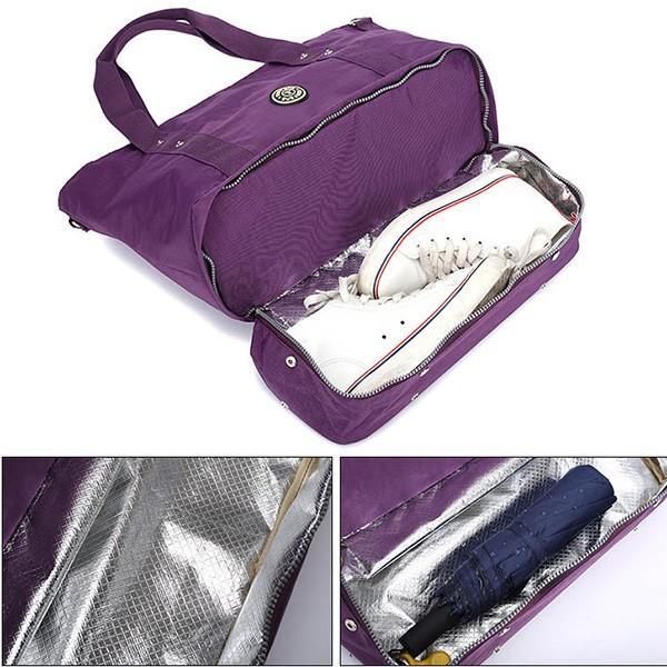 ハンドバッグ トートバッグ マザーバッグ ナイロン 軽量 撥水加工 A4 大容量 鞄 かばん バッグ 小物 レディース|styleblock|04