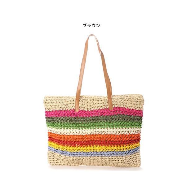トートバッグ かごバッグ ストローバッグ A4 鞄 大容量 かばん バッグ 小物 レディース|styleblock|02