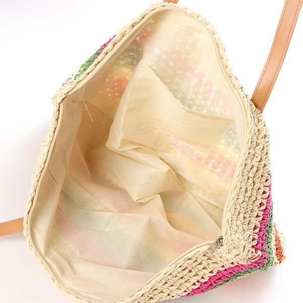 トートバッグ かごバッグ ストローバッグ A4 鞄 大容量 かばん バッグ 小物 レディース|styleblock|03
