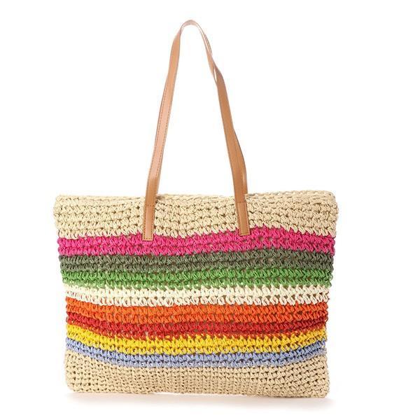 トートバッグ かごバッグ ストローバッグ A4 鞄 大容量 かばん バッグ 小物 レディース|styleblock|08