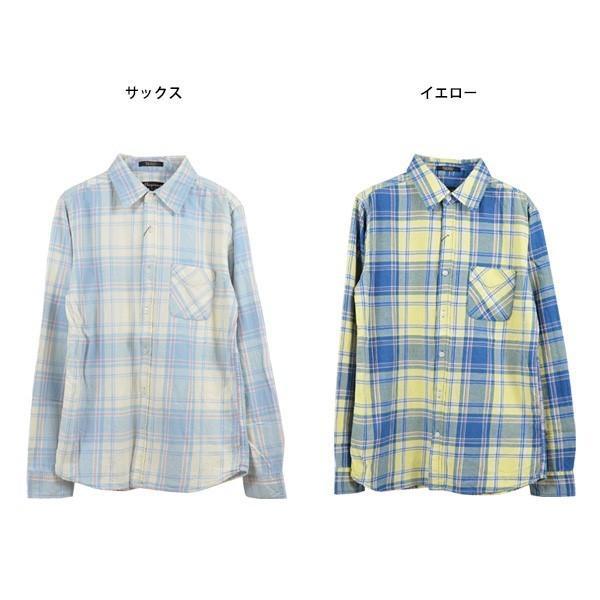 シャツ カジュアルシャツ チェック柄 ネルシャツ チェックシャツ トップス メンズ トップス|styleblockmen|02