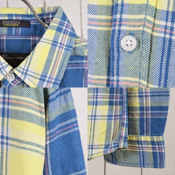 シャツ カジュアルシャツ チェック柄 ネルシャツ チェックシャツ トップス メンズ トップス|styleblockmen|03