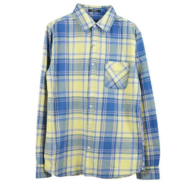 シャツ カジュアルシャツ チェック柄 ネルシャツ チェックシャツ トップス メンズ トップス|styleblockmen|04