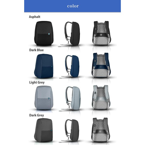 【ドイツ発 通勤 を楽にする バックパック 】 リュック 大容量 ビジネス USB 軽量 レインカバー 盗難防止 ビジネスリュック|stylecompany|12
