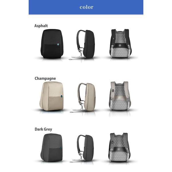 【ドイツ発 通勤 を楽にする バックパック 】 リュック 大容量 ビジネス USB 軽量 レインカバー 盗難防止 ビジネスリュック|stylecompany|13