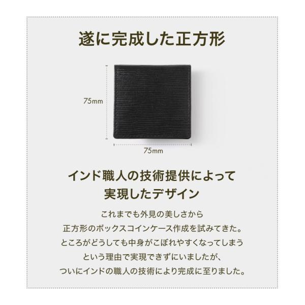 小銭入れ コインケース Δ(デルタ) 水シボ メンズ レディース 革 おしゃれ 小さい コンパクト 出しやすい ボタン styleequal 07