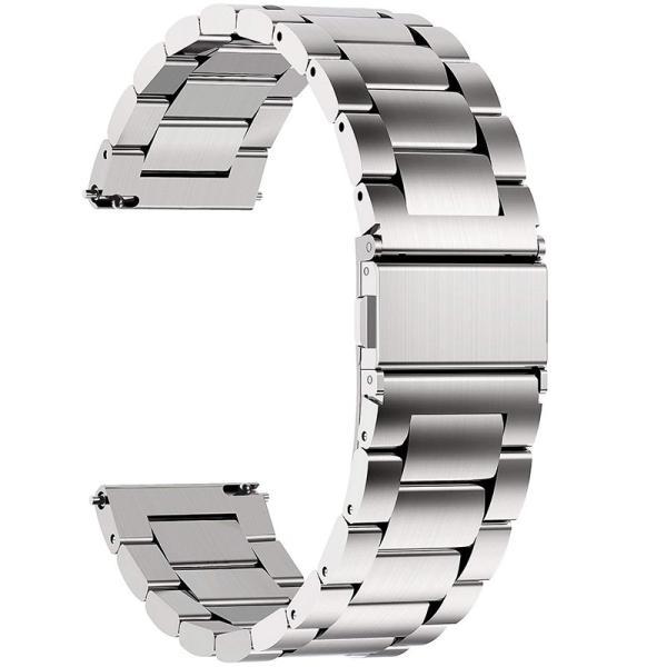 時計バンド ベルト18mm ステンレス スマートウォッチバンド ベルト 腕時計バンド 交換ベルトステンレス 金属ベルト18mm  spddm