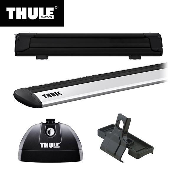 THULE スーリー CX-5専用ベースキャリア フット753+ウイングバー EVO7112+キット3069 +スキーキャリア H24 新作続 エクステンダー7325B ハイクオリティ 2〜H28 11 KE#
