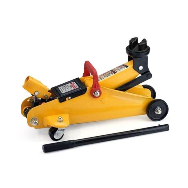 大橋産業 BAL 油圧式 サイド揚げ専用フロアジャッキ1.5トン No.1365 ガレージジャッキ/ジャッキアップ/タイヤ交換チェーン装着等