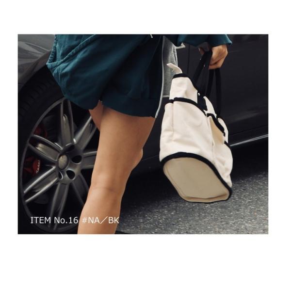 トートバッグ キャンバスバッグ レディース 無地 キャンバス ショルダーバッグ 2way シンプル 斜めがけ 多収納ポケット 通学 通勤 エコバッグ マザーズバッグ|styleonbag|08