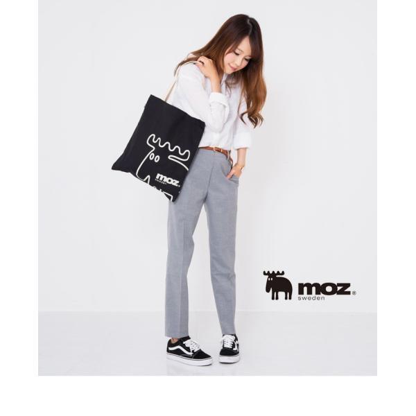 モズ moz トートバッグ レディース キャンバス トート バッグ MOZ モズバック A4収納 バッグ エコバッグ サブバッグ 通勤 通学 かわいい