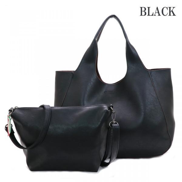 メーカー再販売開始となりました GUSCIO グッシオ 12-0486-2 2WAYトート ブラック バッグインバッグ仕様 本体軽量|stylewebdirect