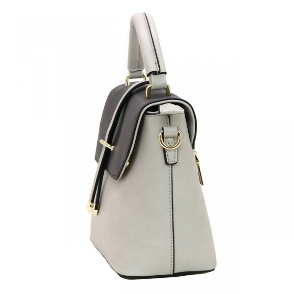 GUSCIO グッシオ 12-0891 2WAYショルダーバッグ スクエア型 配色 アクセント金具|stylewebdirect|05