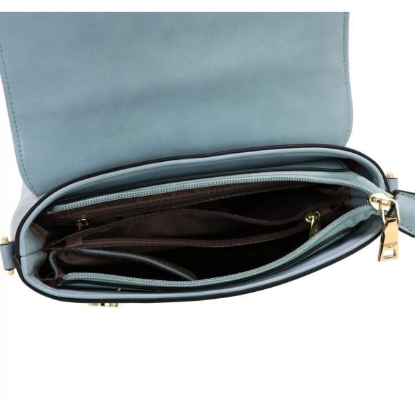 GUSCIO グッシオ 12-0891 2WAYショルダーバッグ スクエア型 配色 アクセント金具|stylewebdirect|08