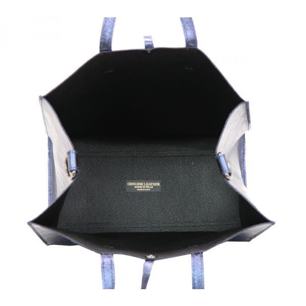 GUSCIO グッシオ 77-0128 台形トートバッグ メタリック モード|stylewebdirect|07