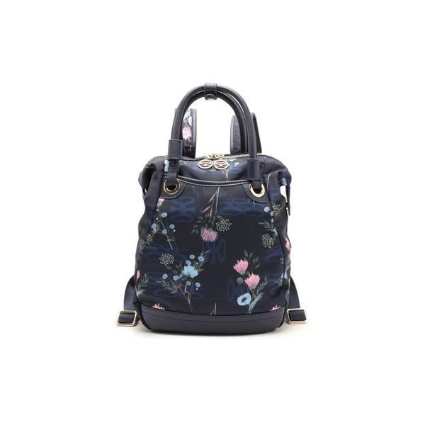 SAVOYサボイSM19140705リュックSAVOYプレミアムライン・花柄×サボイロゴシリーズ