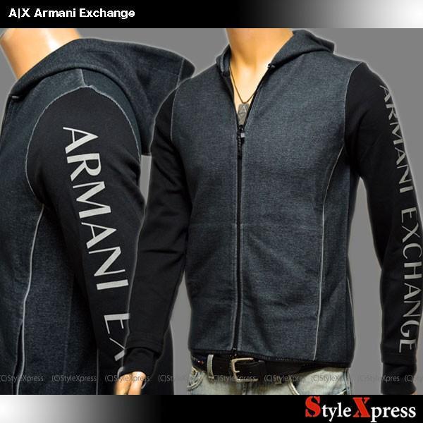 アルマーニエクスチェンジ Armani Exchange パーカー ジャケット メンズ|stylexpress