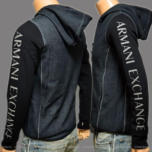アルマーニエクスチェンジ Armani Exchange パーカー ジャケット メンズ|stylexpress|02