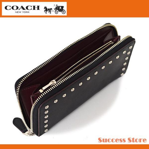 new styles 907b2 99b2d コーチ 財布 長財布 メンズ レディース COACH Western rivets glovetanned leather ウエスタン レザー 長財布  56522 人気 セール 国内発