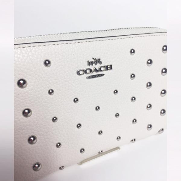 05e994b3ccd7 ... コーチ 財布 レディース メンズ 新作 COACH Medium zip around wallet ミディアム ジップ アラウンド 財布  57538 直営 ...