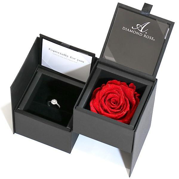エンゲージリング 婚約指輪 ダイヤモンド ダイヤ プラチナ リング バラ付ケースセット セール 母の日 春