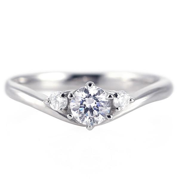 婚約指輪 ダイヤモンド プラチナリング 一粒 大粒 指輪 エンゲージリング 0.5ct プロポーズ用 レディース 人気 ダイヤ 刻印無料 6月 誕生石 ムーンストーン