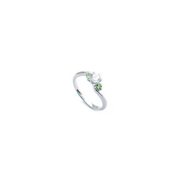ダイヤモンドリング プラチナ 1粒 鑑別書付き 0.55ct レディース 人気 ダイヤ 刻印無料 8月 誕生石 ペリドット セール 母の日 春