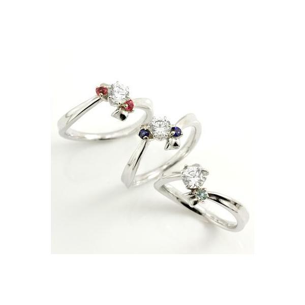誕生石 プラチナ ダイヤモンドリング 婚約指輪 エンゲージリング セール 母の日 春