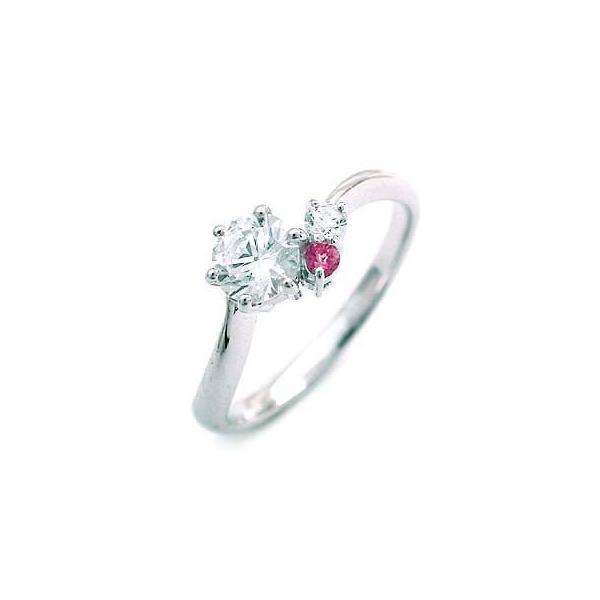 エンゲージリング 婚約指輪 ダイヤモンド ダイヤ プラチナ リング ピンクトルマリン セール 母の日 春