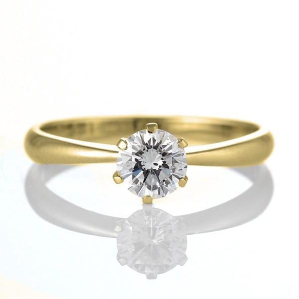 ダイヤモンド指輪 ダイヤモンド 指輪 ダイヤ レディース デザインリング ファッションリング 一粒 イエローゴールド セール 母の日 春