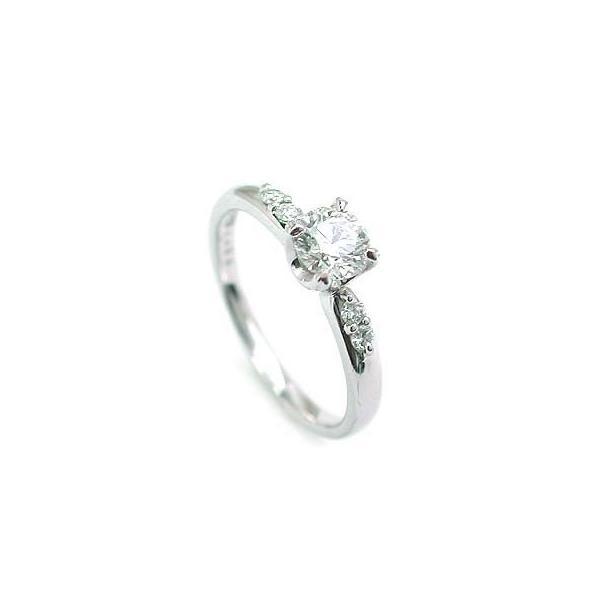 婚約指輪 ダイヤモンド ダイヤ リング エンゲージリング プラチナ950 VVS1クラス 0.30ct 鑑定書付 バラ 付ケースセット セール 母の日 春