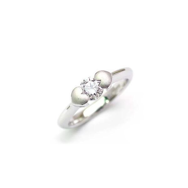 婚約指輪 エンゲージリング ホワイトゴールド ダイヤモンド ダイヤ リング VSクラス 0.30ct 鑑定書付 バラ 付ケースセット セール 母の日 春
