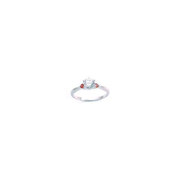 エンゲージリング 婚約指輪 ダイヤモンド ダイヤ プラチナ リング ガーネット セール 母の日 春