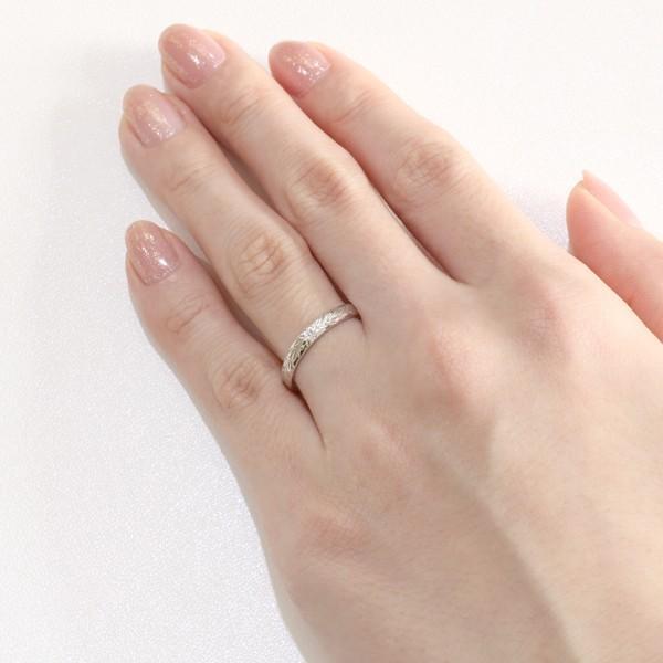 ハワイアンジュエリー マリッジリング 結婚指輪 ダイヤモンド リング プラチナ セール 母の日 春