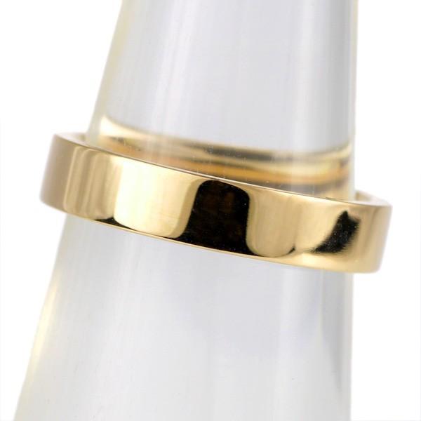 指輪 シンプル カラー シルバー イエロー シンプル レディース 地金 リング 平打 セール 母の日 春