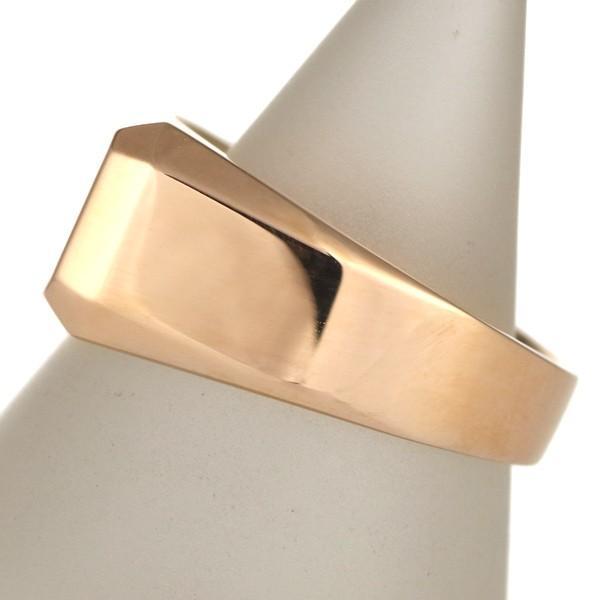 結婚指輪 安い ペアリング 幅広 シルバー ピンク 印台 ペア 地金 リング セール 母の日 春