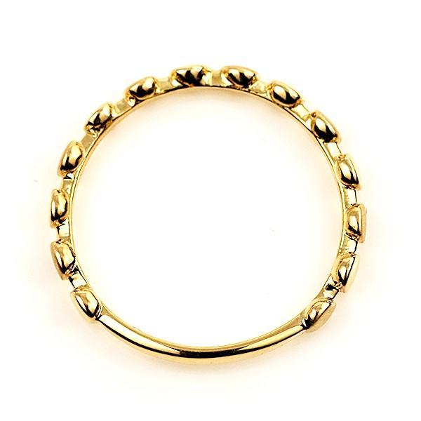 リング 指輪 シンプル ラウンド 円 丸 ヴィンテージ イエローゴールド セール 母の日 春