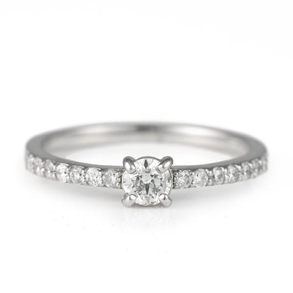 リング 指輪 ダイヤモンド プラチナ 婚約 ダイヤ 0.3ct セール 母の日 春