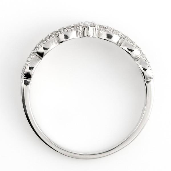 指輪 レディース プラチナ エタニティ ダイヤモンド リング アンティーク ミル打ち スイート プレゼント 10周年 贈り物 アクセサリー ホワイトデー セール