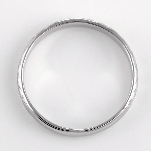 ハワイアンジュエリー ペアリング 安い メンズ シルバー 幅約3mm マイレ セール 母の日 春