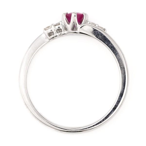 指輪 ルビー ダイヤモンド リング プラチナ 7月 誕生石 セール 母の日 春