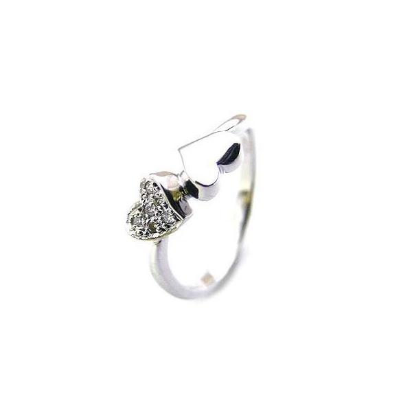 ダイヤモンド指輪 K18ホワイトゴールド ダイヤモンドリング セール 母の日 春