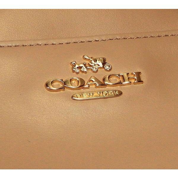 COACH コーチ 2way ハンドバッグ ミッキー レザー ビーチウッド 25032E