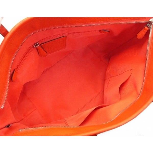 COACH コーチ トートバッグ タクシー レザー コーラル 33915 ブティック品