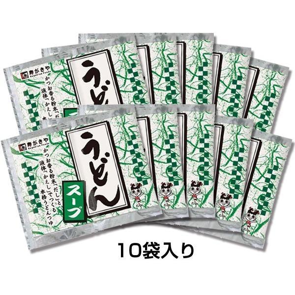 うどんスープ10袋セット  寿がきや すがきや Sugakiya|sugakiyasyokuhin