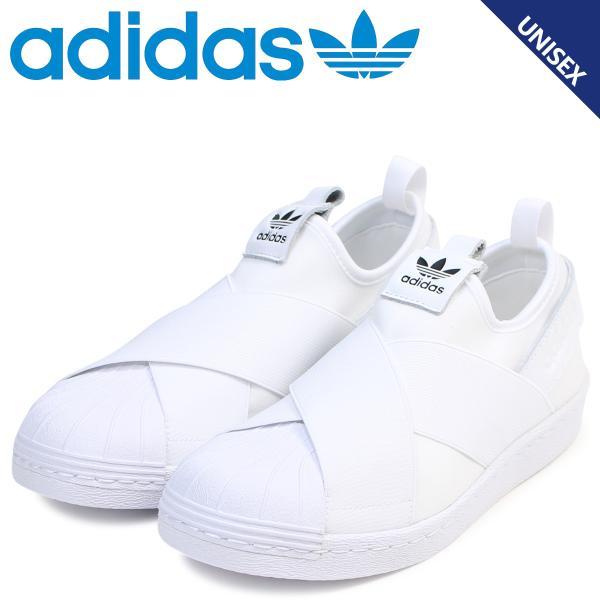 adidas Originals アディダス オリジナルス スーパースター スリッポン スニーカー メンズ レディース SUPERSTAR SLIP ON W ホワイト 白 S81338 10/10 再入荷|sugaronlineshop