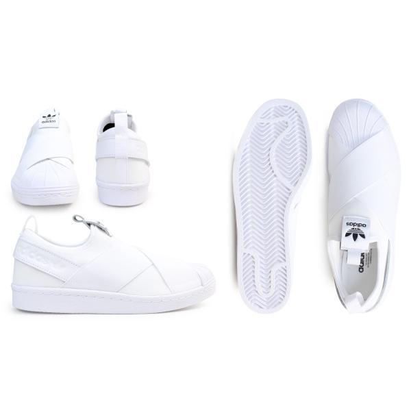 adidas Originals アディダス オリジナルス スーパースター スリッポン スニーカー メンズ レディース SUPERSTAR SLIP ON W ホワイト 白 S81338 10/10 再入荷|sugaronlineshop|03