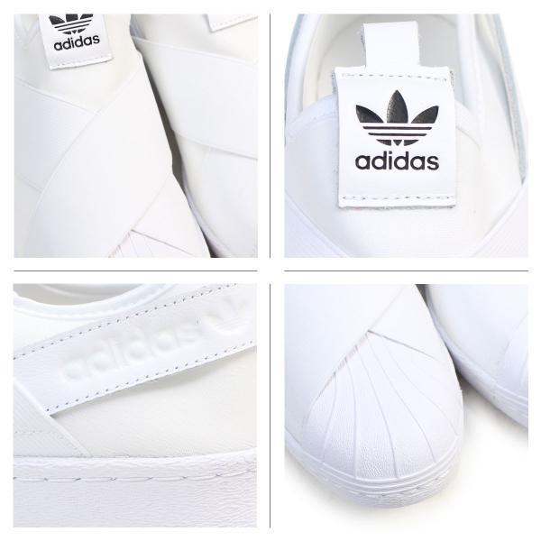 adidas Originals アディダス オリジナルス スーパースター スリッポン スニーカー メンズ レディース SUPERSTAR SLIP ON W ホワイト 白 S81338 10/10 再入荷|sugaronlineshop|04