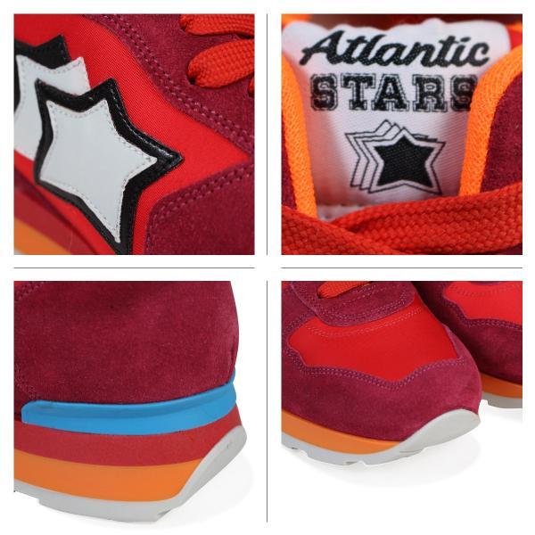 Atlantic STARS レディース スニーカー アトランティックスターズ ベガ VEGA FRA-85C レッド 3/29 再入荷