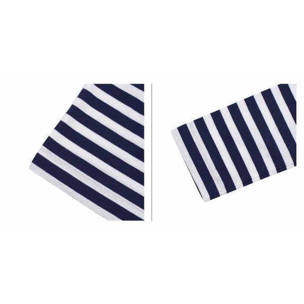 プレイ コムデギャルソン PLAY COMME des GARCONS Tシャツ 長袖 レディース HEART LS T-SHIRT ボーダー カットソー AZ-T051 ホワイト 11/3 追加入荷|sugaronlineshop|04